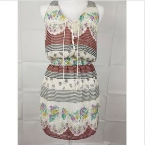 Free People Short Boho dress size Small Floral